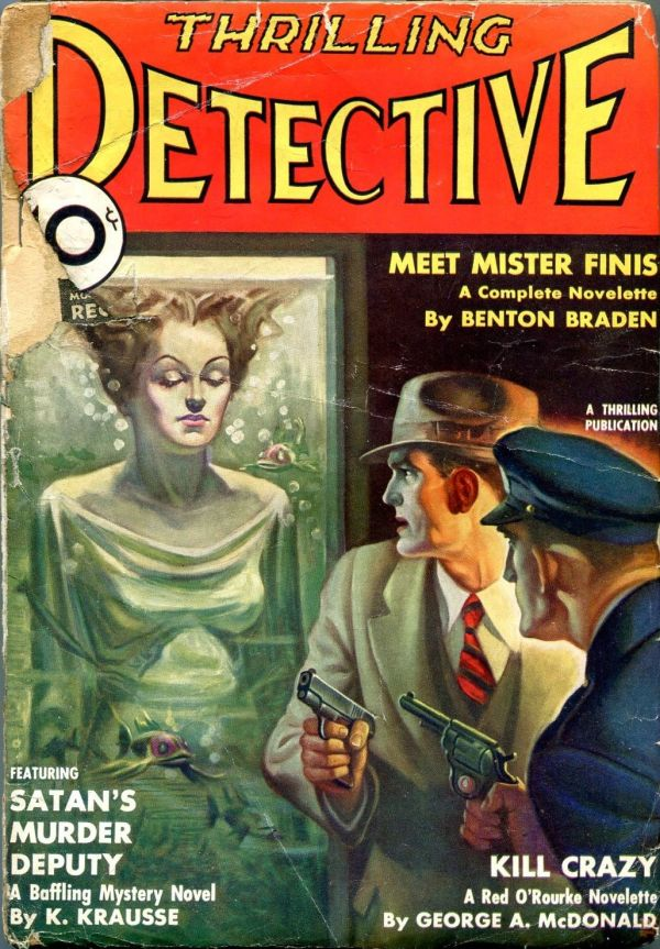 Thrilling Detective January 1935
