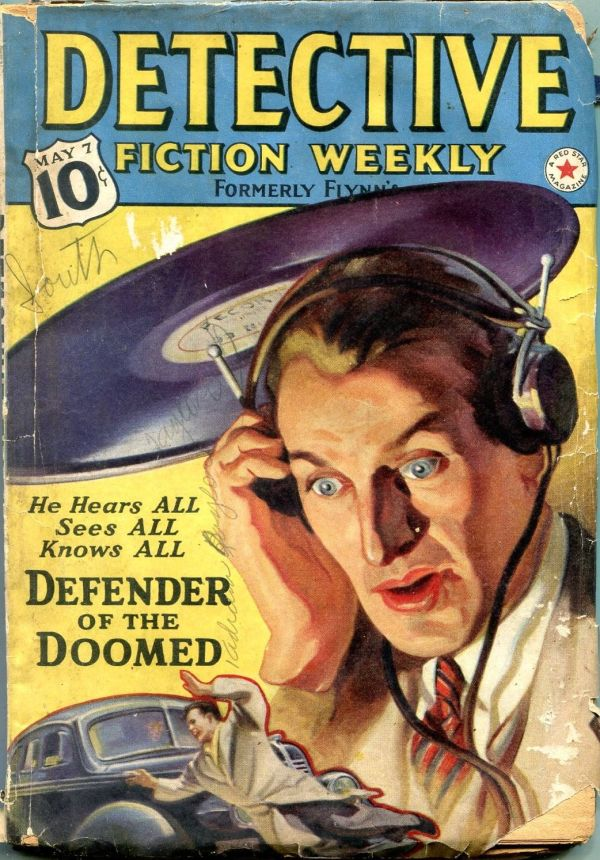 Detective Fiction Weekly May 7 1938