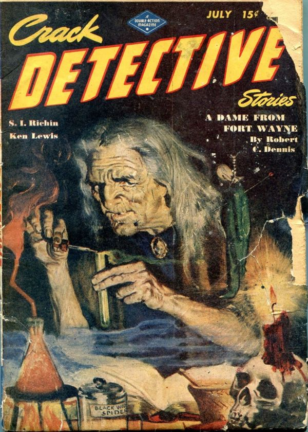 Crack Detective Stories July 1946