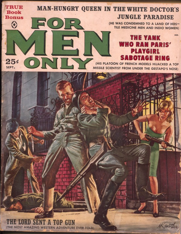 For Men Only September 1960