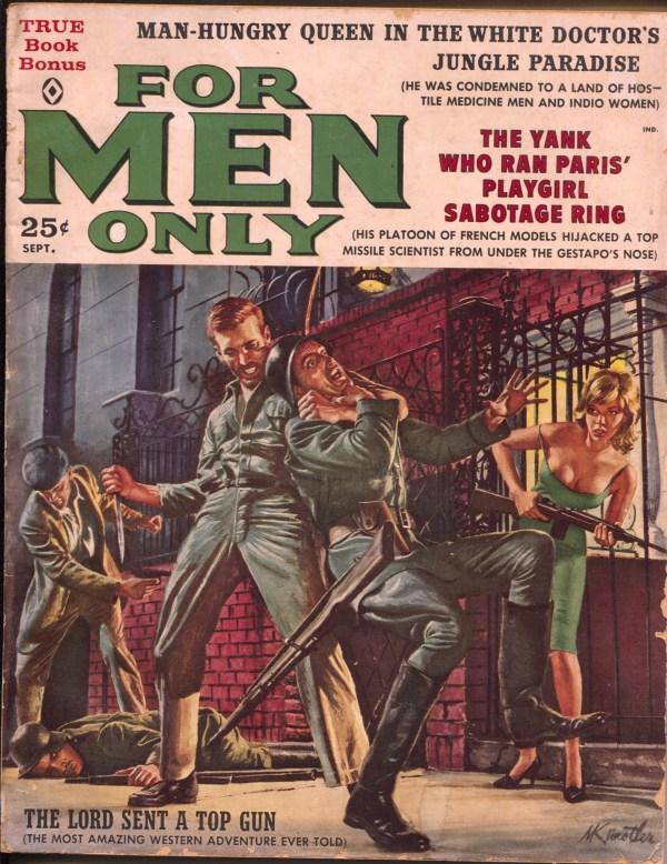 For Men Only September 1960