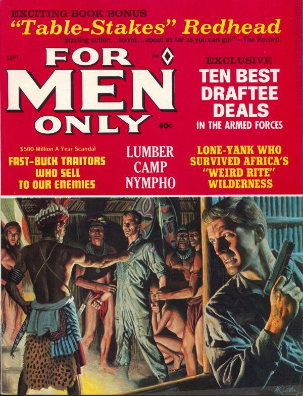 For Men Only September 1966