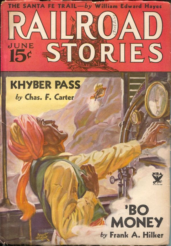 Railroad Stories June 1934