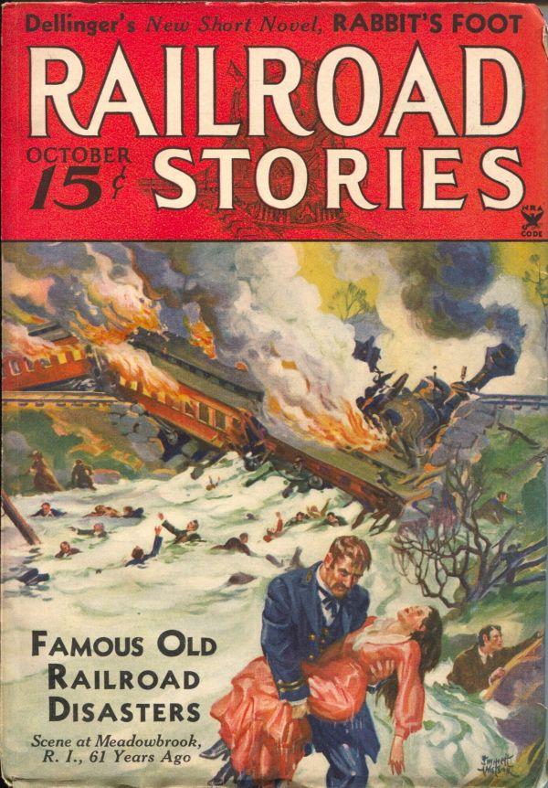 Railroad Stories October 1934