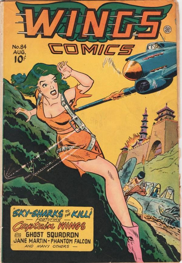Wings Comics #84 Aug 1947