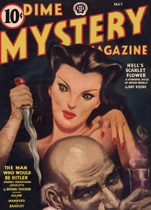 Dime Mystery May 1944
