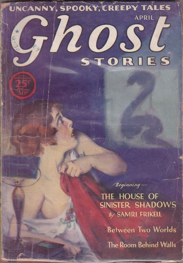 Ghost Stories April 1930