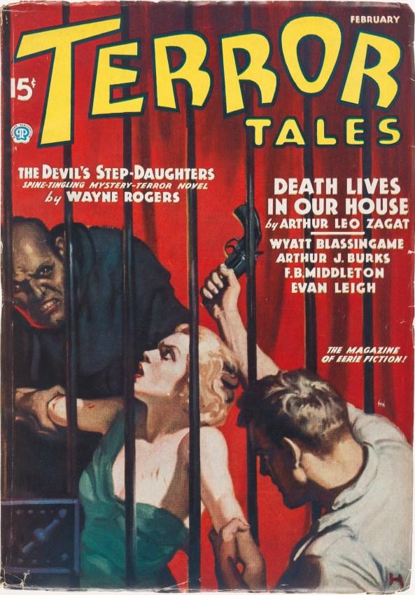 Terror Tales February 1936