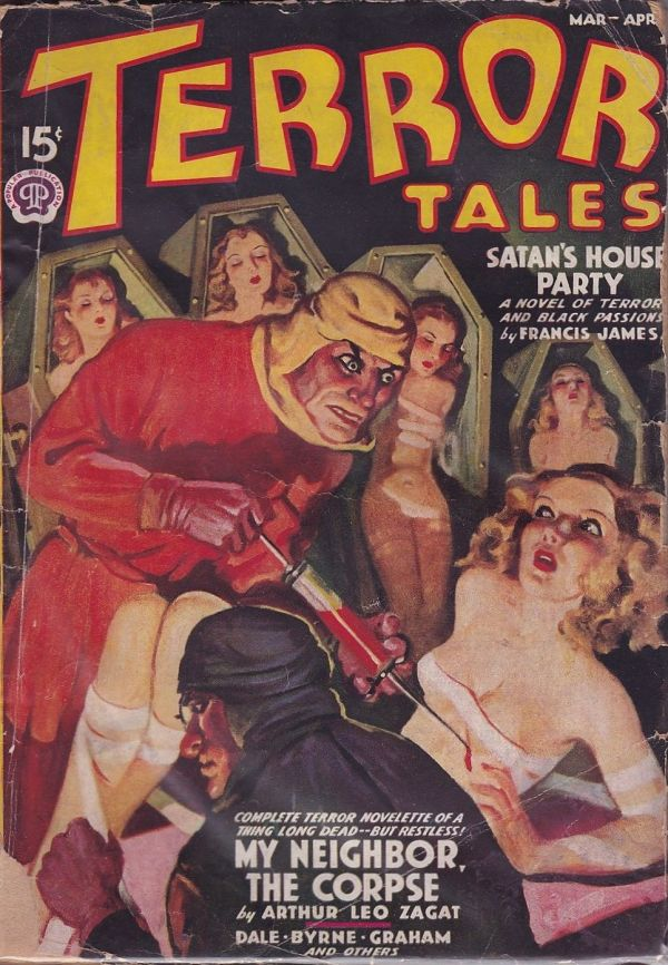 Terror Tales March-April 1938