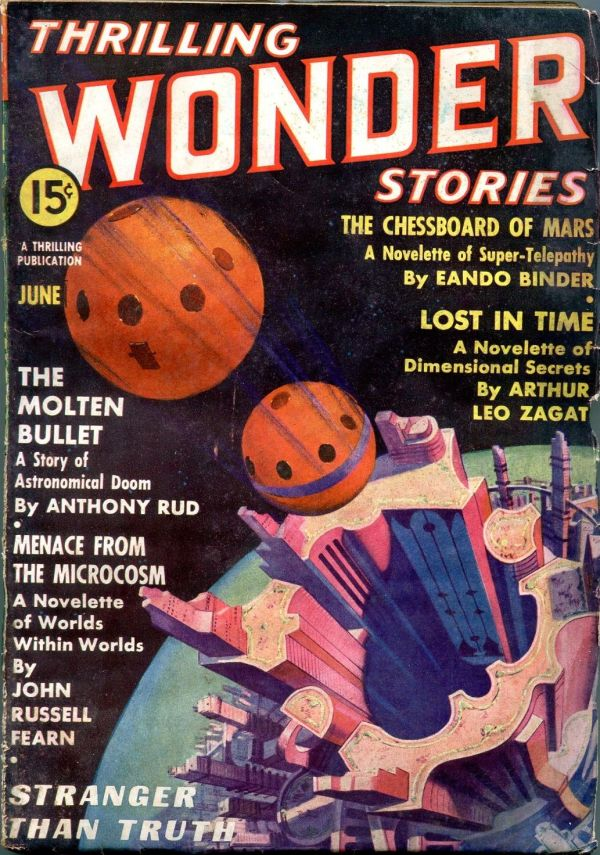 Thrilling Wonder Stories June 1937