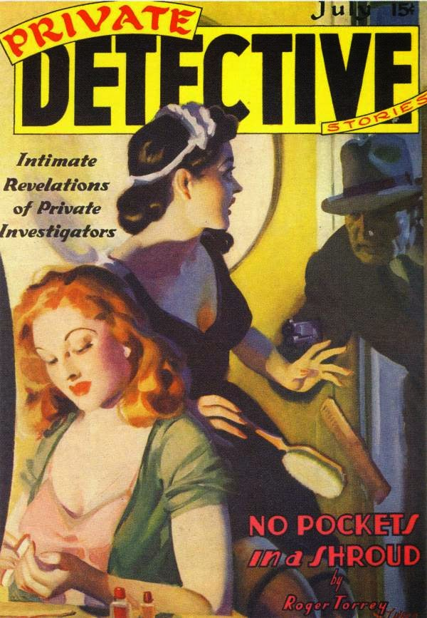 Painting – Pulp Covers