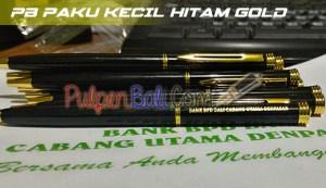 Pulpen Besi untuk Promosi cetak warna emas logo BPD Bali