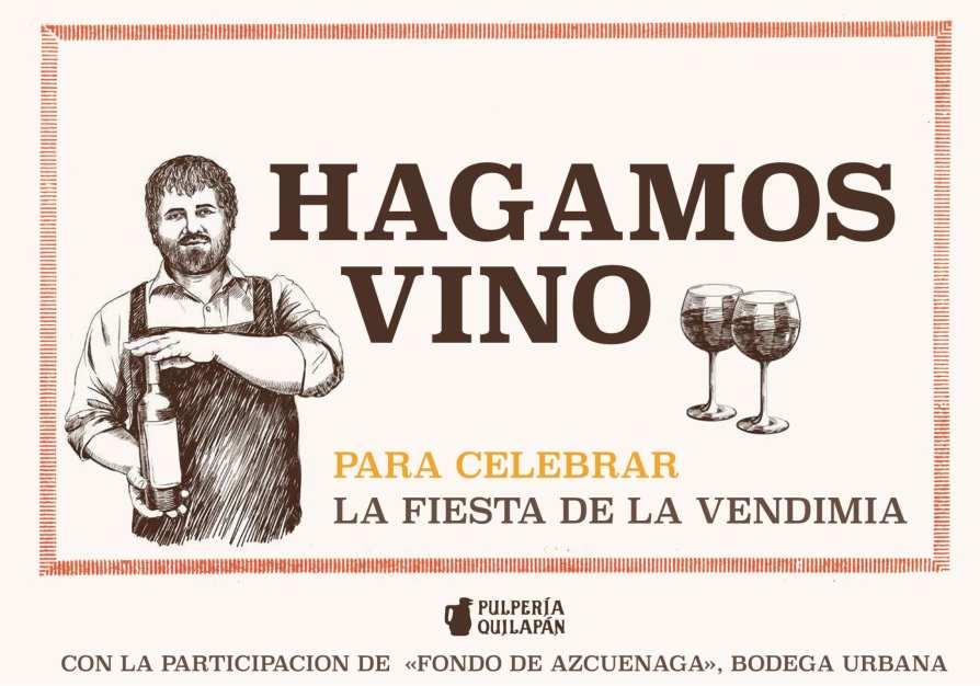 Vendimia porteña - taller de vino patero @ Pulpería Quilapán | Buenos Aires | Ciudad Autónoma de Buenos Aires | Argentina