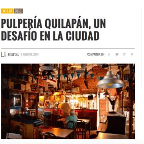 """<span class=""""live-editor-title live-editor-title-23866"""" data-post-id=""""23866"""" data-post-date=""""2016-08-08 12:49:39"""">Pulpería Quilapan, un desafío en la ciudad por Revista Li</span>"""
