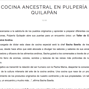"<span class=""live-editor-title live-editor-title-24605"" data-post-id=""24605"" data-post-date=""2016-10-30 19:09:29"">Cocina Ancestral Andina entre las nuevas tendencias con pbeaux</span>"