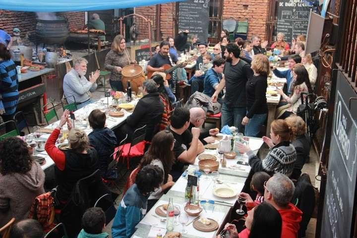 Restaurantes Con Patio Por El Clarin Pulper 237 A Quilap 225 N