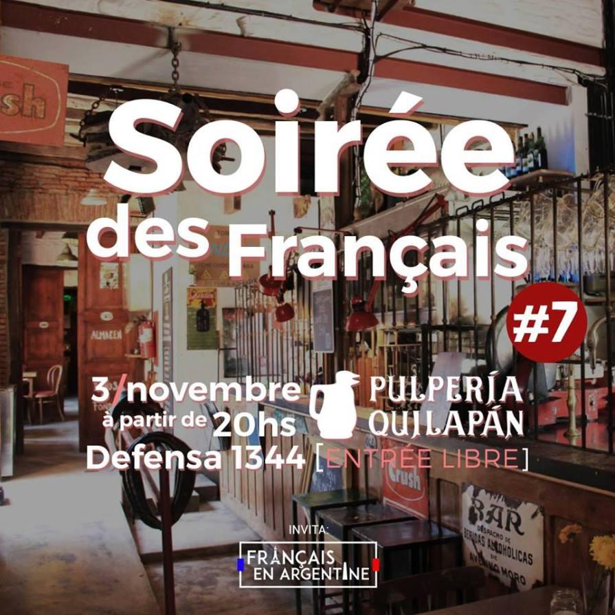 Soirée Français à Buenos Aires #7 @ Pulperia Quilapan   Buenos Aires   Argentina