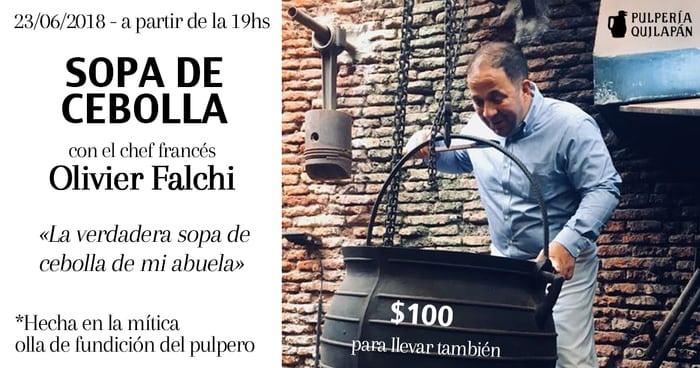 Sopa de cebolla de Olivier Falchi @ Pulpería Quilapán | Buenos Aires | Argentina
