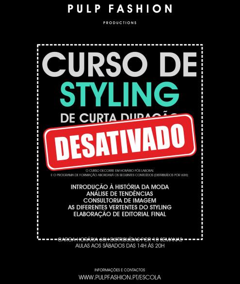 curso styling curta duracao