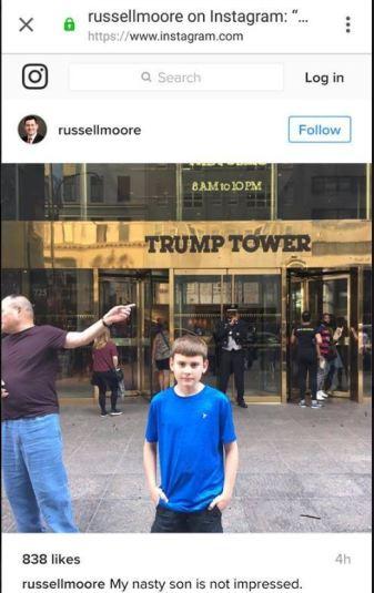russ jr tump tower