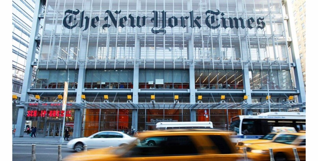 "New York Times ""No-Go"" List: Reporters Banned From"