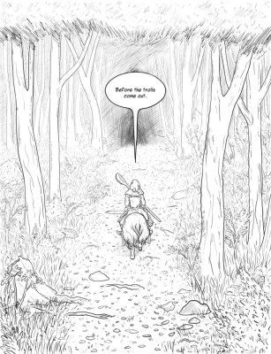 unwanted visitors p 9
