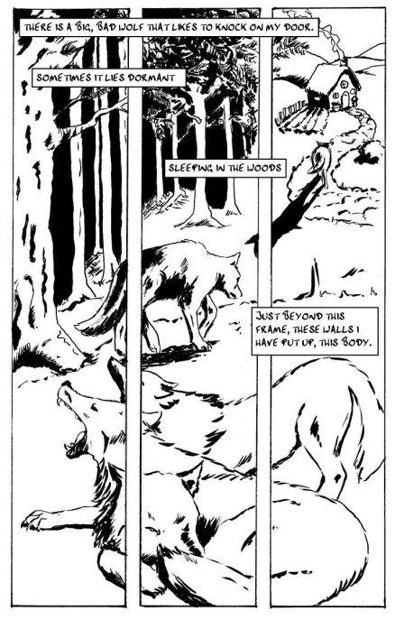 'The Wolf' by Kimberleigh Roseblade & JM Landels