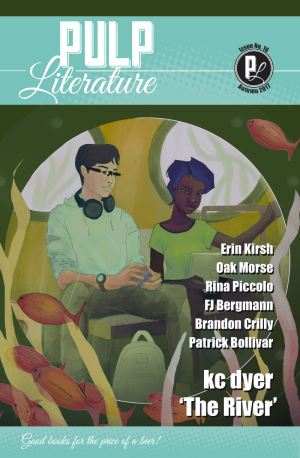 Issue 16 cover art by Akem