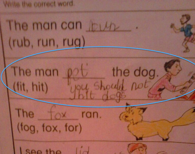 Test Answers That Are Wrong But Totally Genius At The Same - 39 test answers that are wrong but genius at the same time