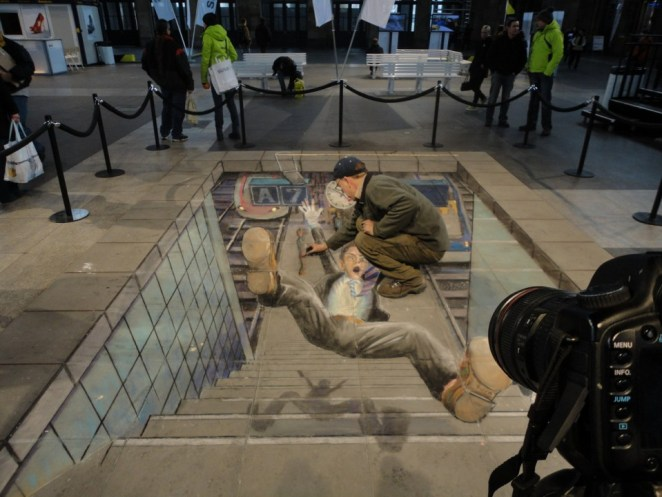 Julian Beever Pavement drawings 3