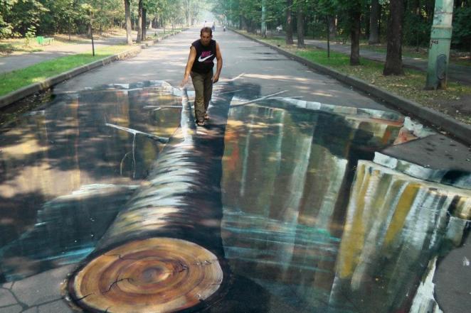Julian Beever Pavement drawings 4