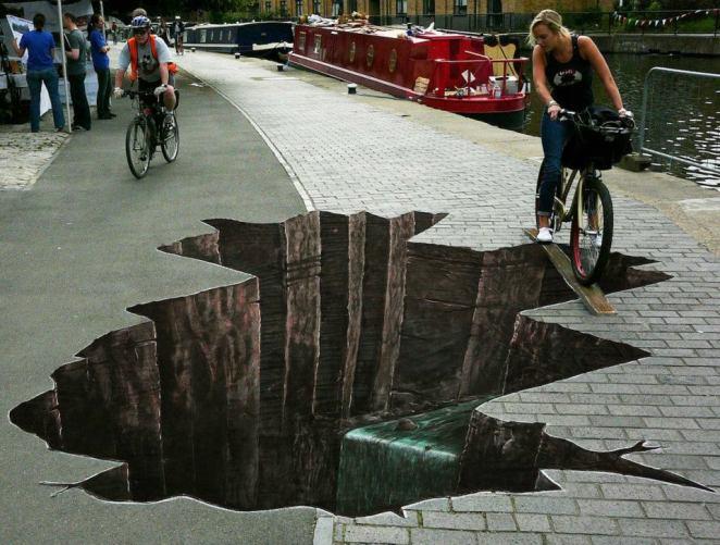 Julian Beever Pavement drawings 5