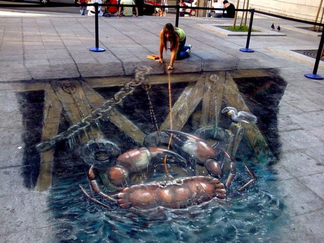 Julian Beever Pavement drawings  9