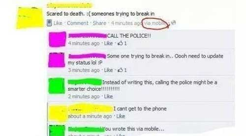 lying-on-facebook-trying-break-in