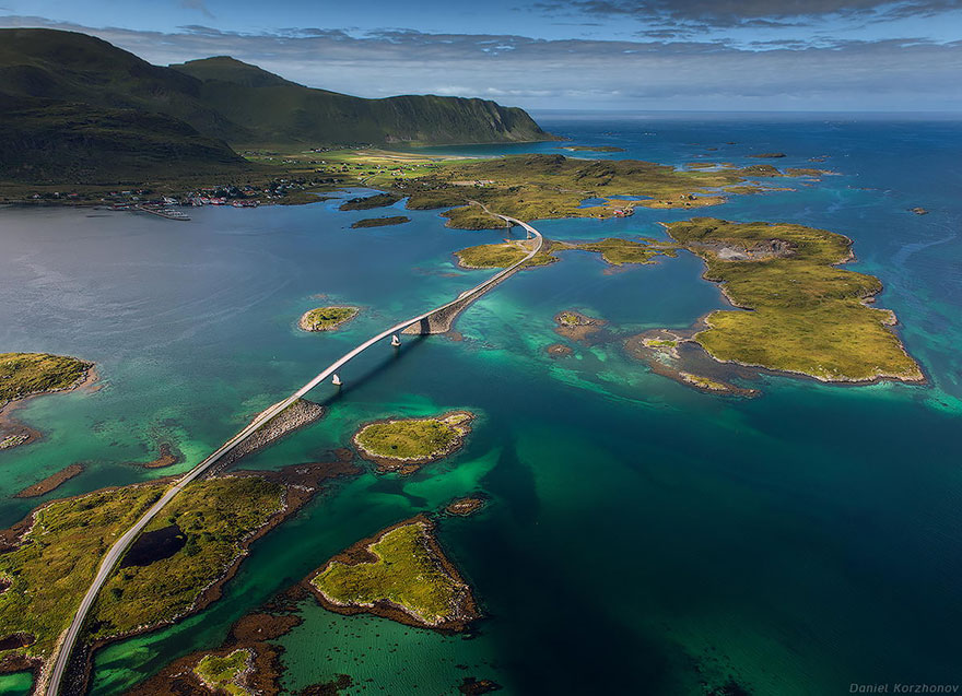 Lofoten Islands, Fredvang Bridges
