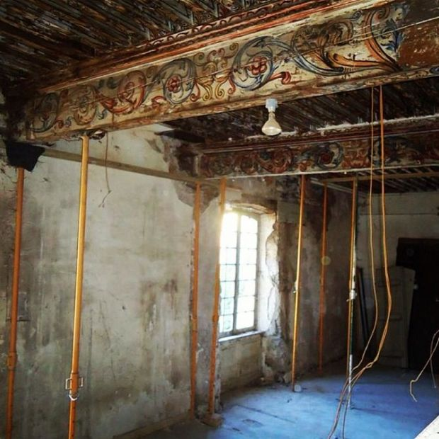 A Couple Bought An Abandoned French Chateau From The 1700s