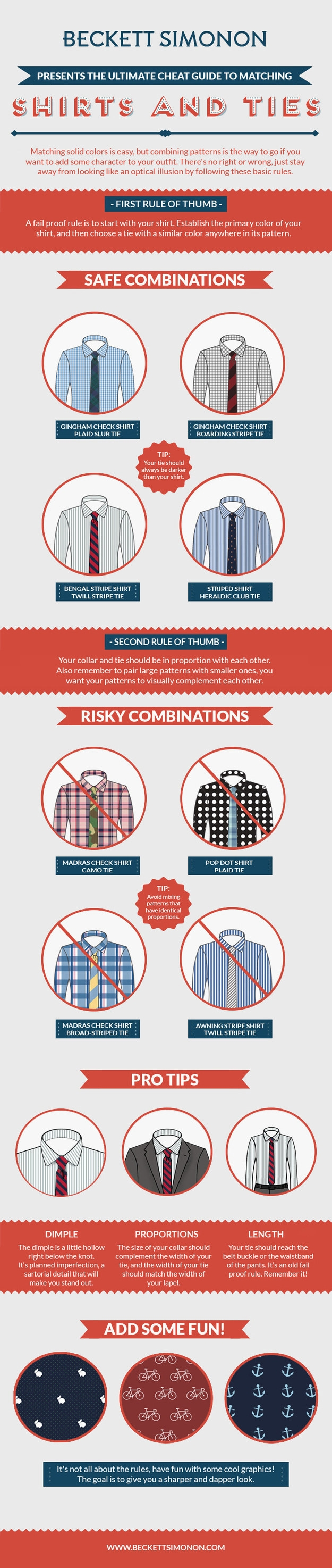 25 style charts every man needs to see 3 know how to mix and match shirts and ties geenschuldenfo Images