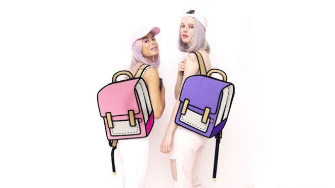A Taiwan-based company called JumpFromPaper is selling accessories that look like they came straight out of a Saturday morning cartoon.