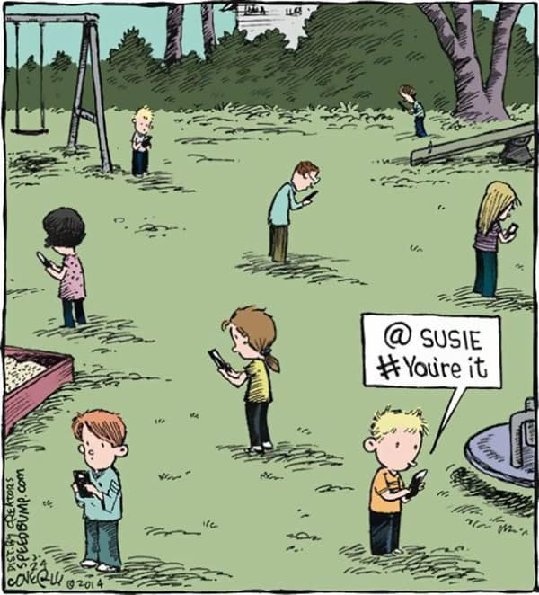 These 40 Cartoons Perfectly Illustrate How Smartphones Have Taken Over Our Lives 14