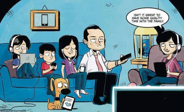 These 40 Cartoons Perfectly Illustrate How Smartphones Have Taken Over Our Lives 16