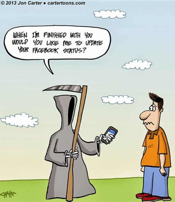 These 40 Cartoons Perfectly Illustrate How Smartphones Have Taken Over Our Lives 24