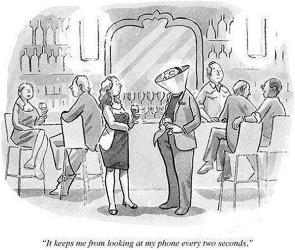 These 40 Cartoons Perfectly Illustrate How Smartphones Have Taken Over Our Lives 27