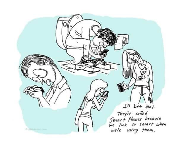 These 40 Cartoons Perfectly Illustrate How Smartphones Have Taken Over Our Lives 35