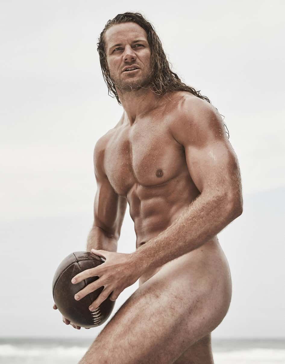 Are Naked athletes never