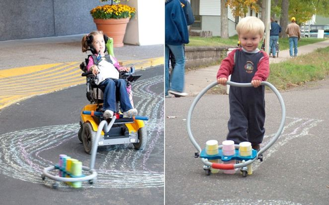Artist S Amazing Inventions Provide Kids With Disabilities