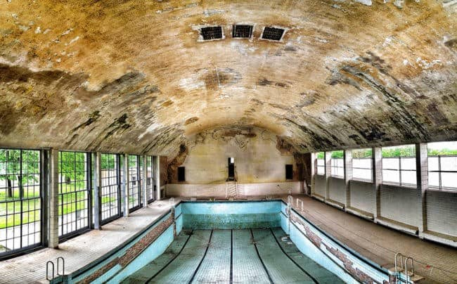 Eerie Photographs Of Abandoned And Decaying Olympic Venues Around - Eerie abandoned olympic venues around the world