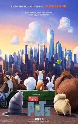 The Secret Life of Pets art