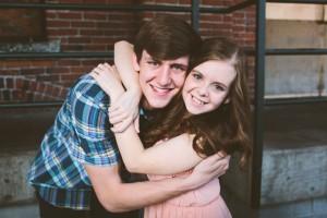 Anna and Andrew Hug - Web