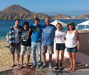Our whole family — me, my husband, Chad and our other three children — went to Cabo in July 2015. This was our first family vacation out of the country.