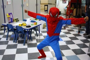 Halloween at the Hospital Spiderman